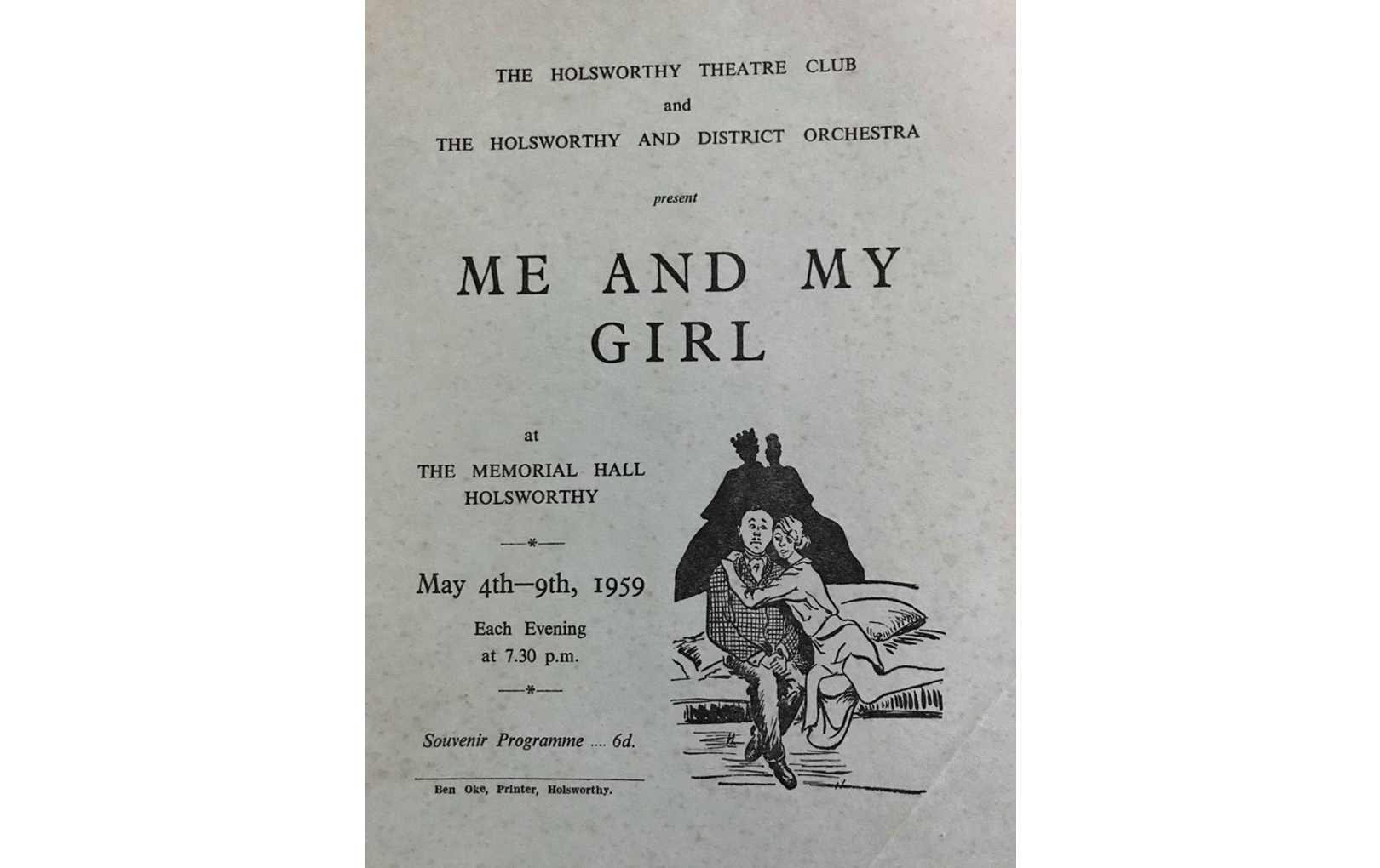 1959 – Me And My Girl (HTC)